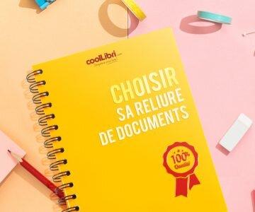 Reliure de document professionnel ou reliure classique ?