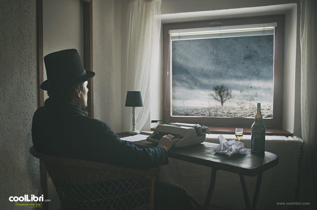 Créer mon livre dans une résidence d'écriture