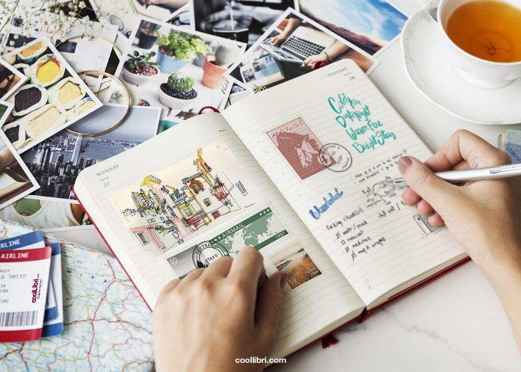 écrire un récit de voyage, rédaction