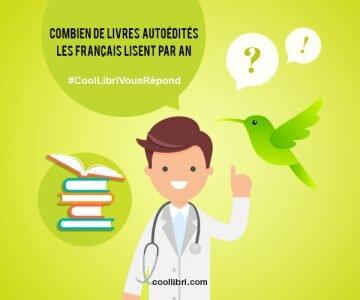 Combien de livres autoédités les Français lisent par an ?