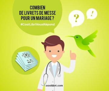 Combien de livrets de messe pour un mariage ?