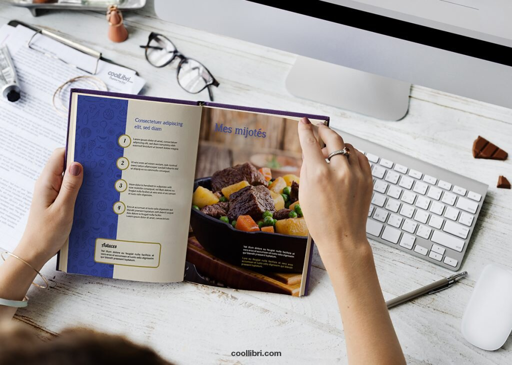 livre de cuisine créer et acheter