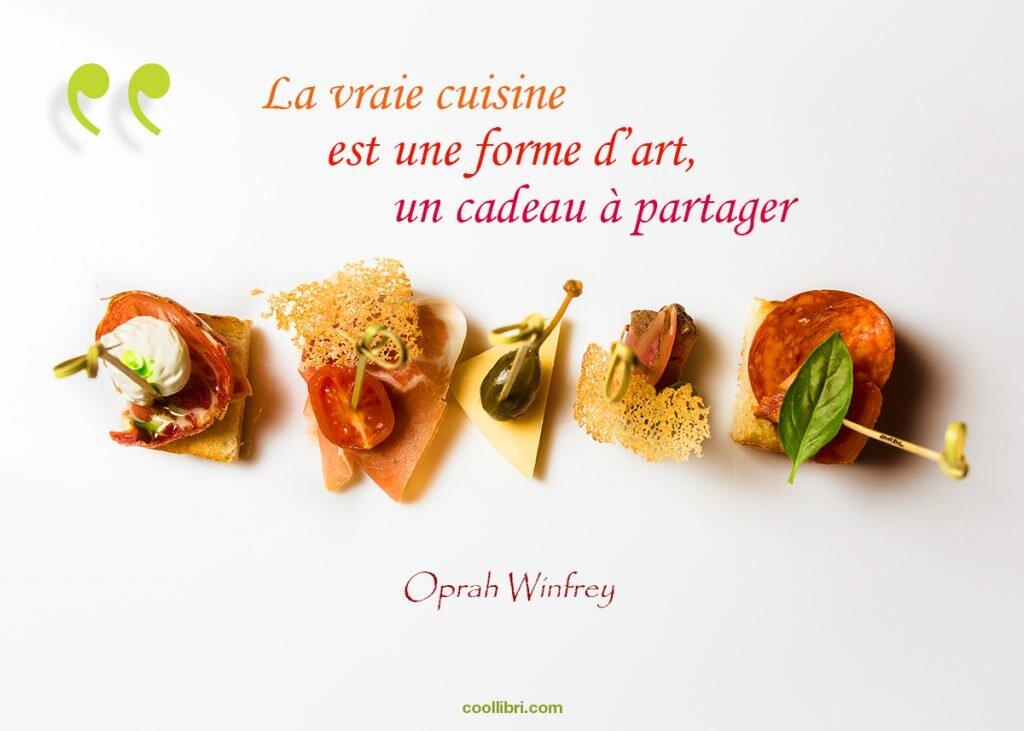 livre de cuisine Oprah Winfrey
