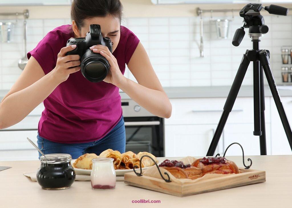 comment faire des photos pour un livre de cuisine