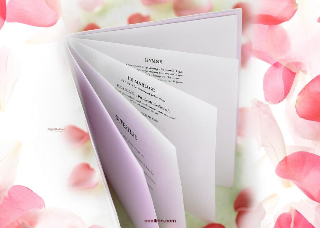 Les textes pour son livret de messe de mariage