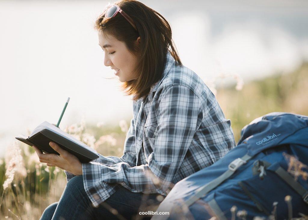 écrire en plein air