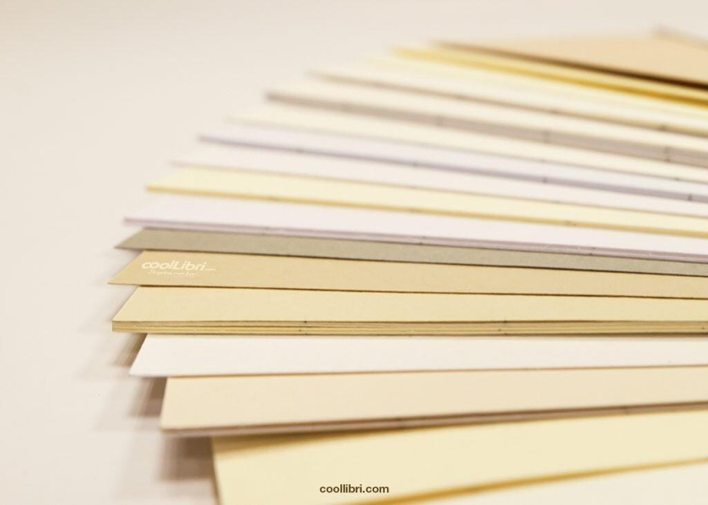 échantillons de papier