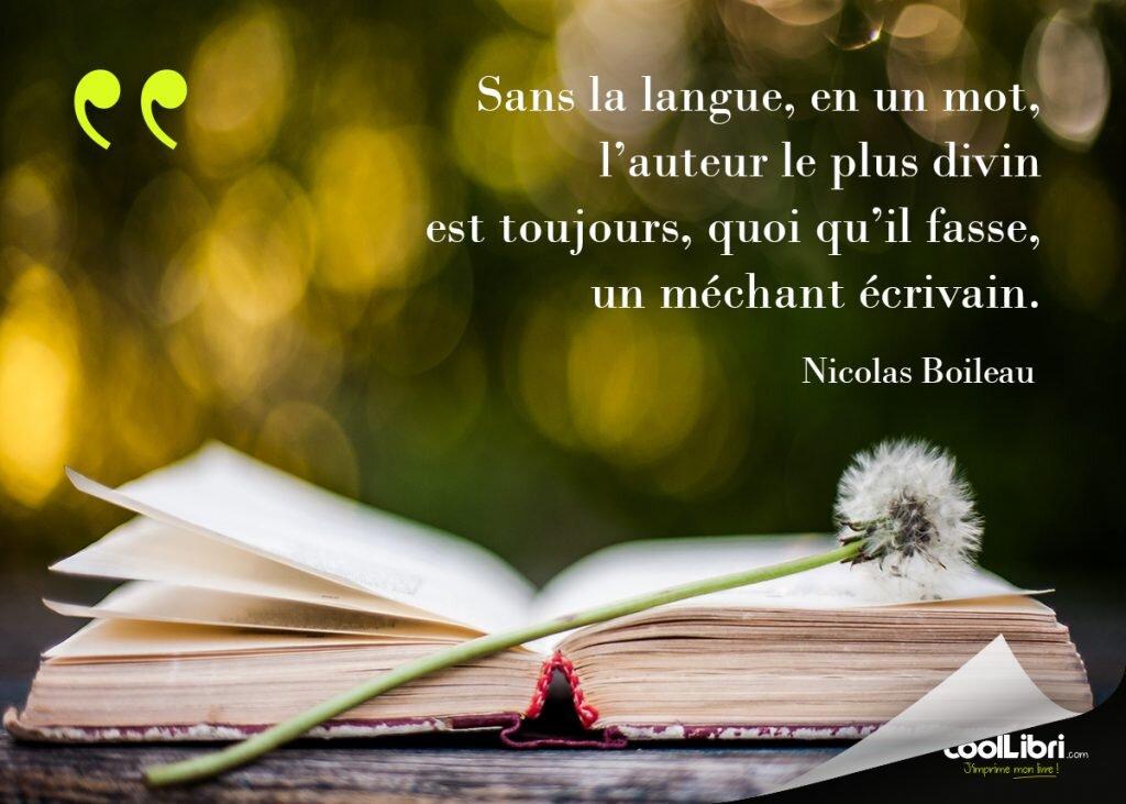 Citation Nicolas Boileau