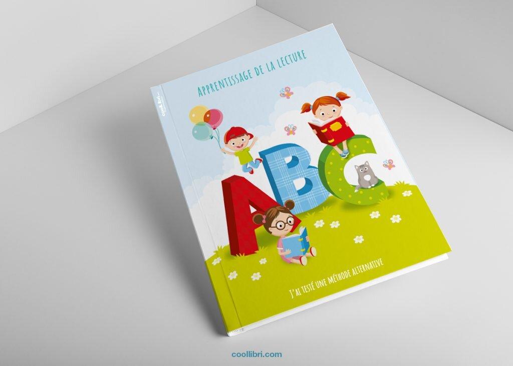 couverture sympa possible pour un livre sur l'apprentissage de la lecture