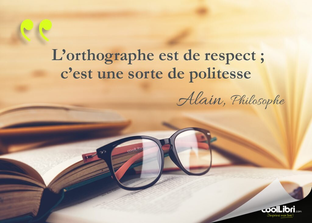 Orthographe et correction orthographique