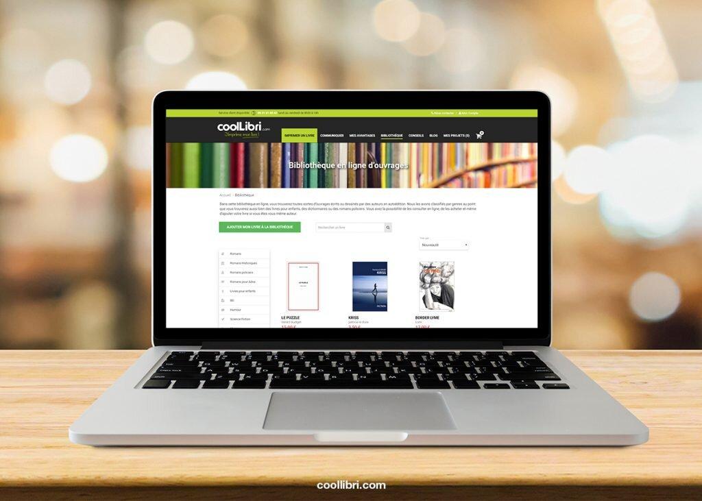 Découvrez la bibliothèque en ligne de CoolLibri : ce n'est pas une librairie