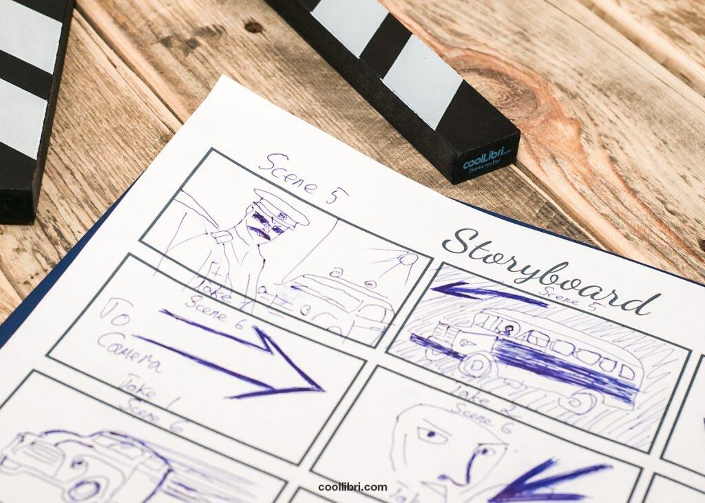 logiciel pour écrire un storyboard