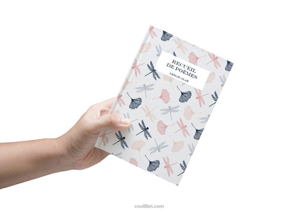 couverture recueil de poésies