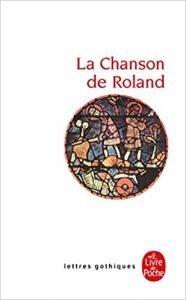 Livre classique de la littérature : La chanson de Roland