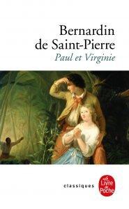 """le roman de Bernardin de Saint Pierre, publié en 1788, """"Paul et Virginie"""""""