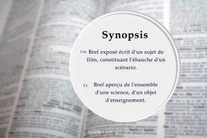 Définition et origine du mot synopsis
