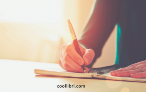 Ecrire sur un carnet papier