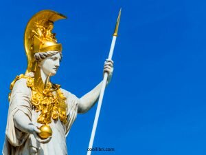 la déesse Athéna