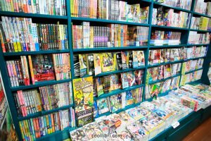 les mangas sont classés en séries