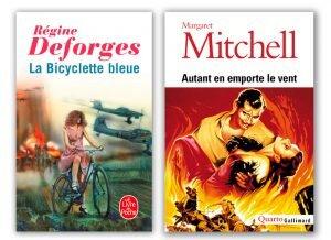 La bicyclette bleue et autant en emporte le vent