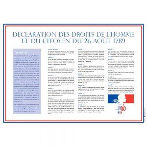 PHOTO DECLARATION DES DROITS DE L'HOMME ET DU CITOYEN