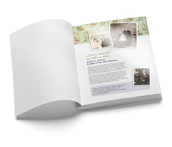 Impression de livre de g n alogie familiale et arbre - Imprimer arbre genealogique ...